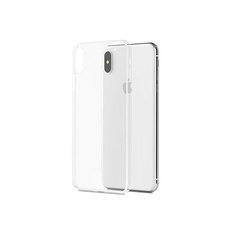 coque iphone xs max moshi superskin transparent